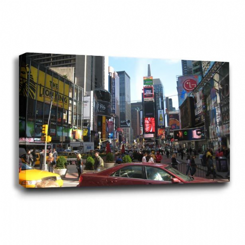 New York Canvas Wall Art Picture Print Big Apple